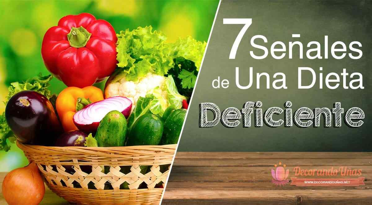 Señales de un dieta deficiente: Esto es a lo que tenes que prestarle atención