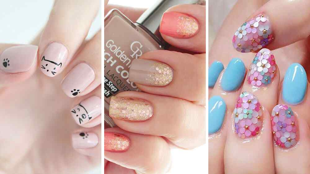 Diseños de uñas faciles y bonitos