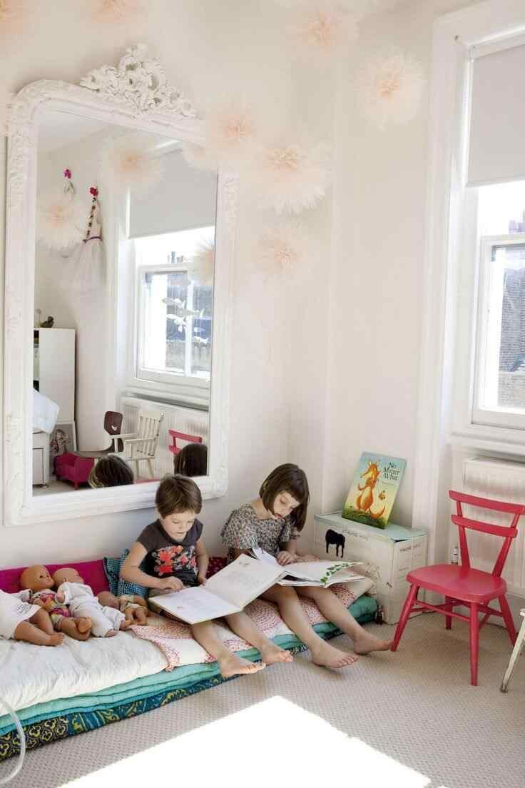 rincon de lectura cuarto infantil