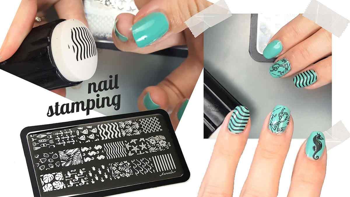 estampado de uñas