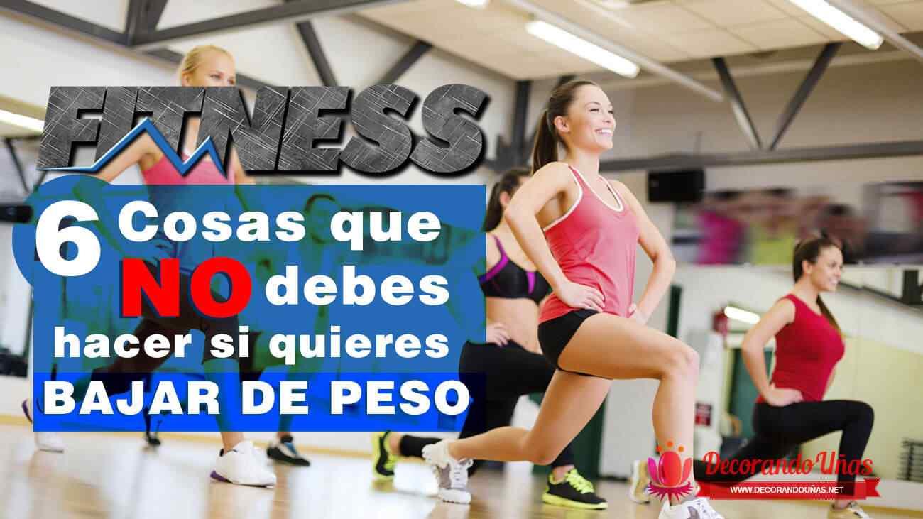 errores-fitness-bajar-de-peso