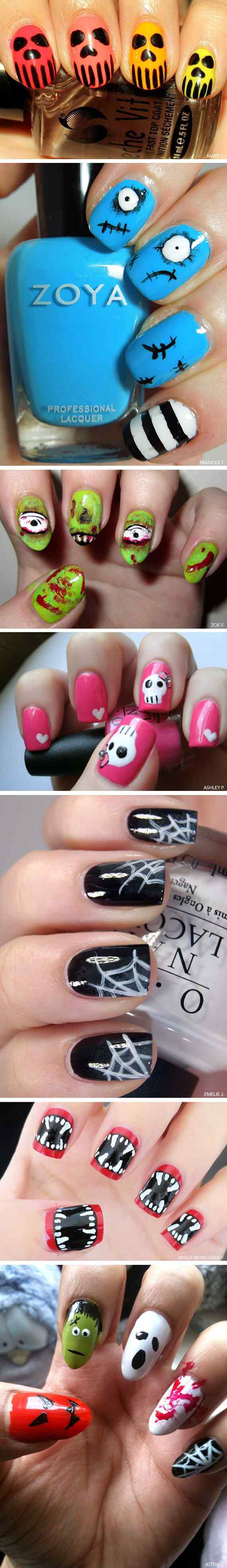 Ideas pintar unas halloween (35)