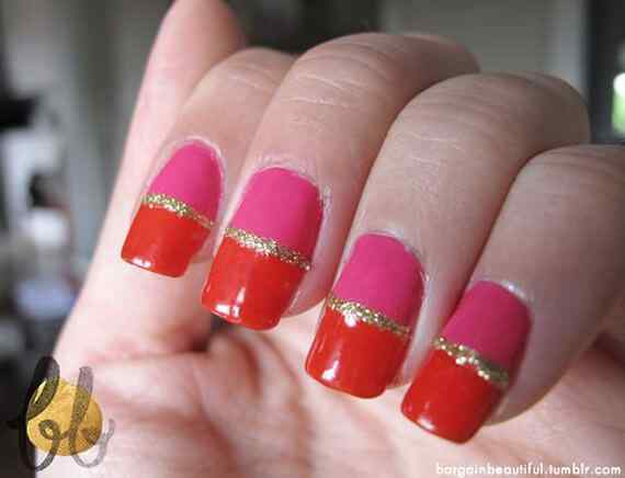 Pink nails unas color rosa (13)