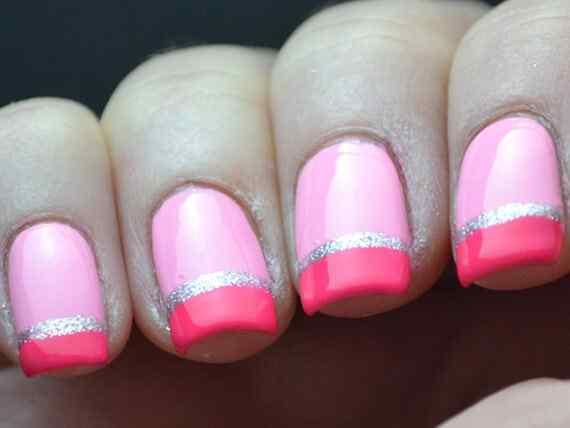 Pink nails unas color rosa (18)
