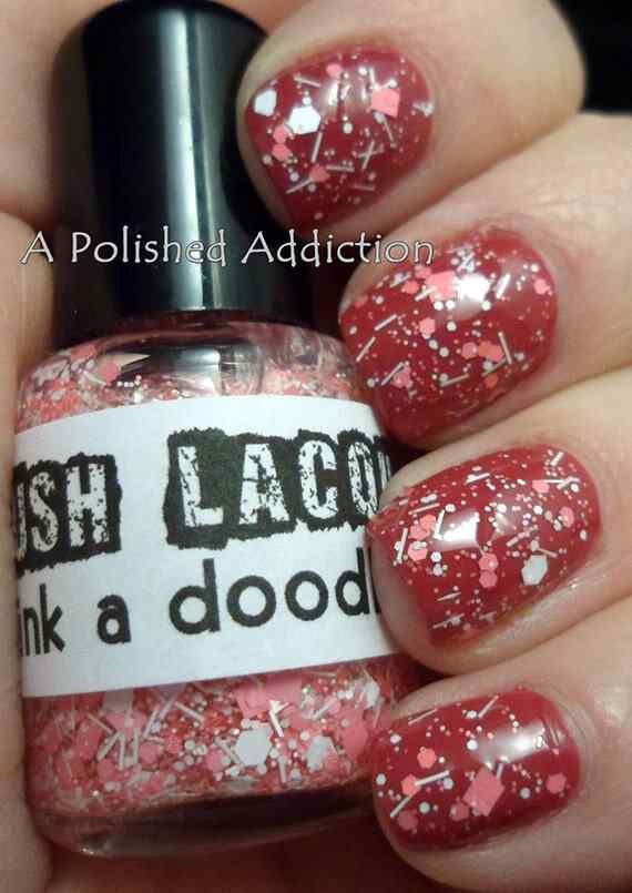Pink nails unas color rosa (22)