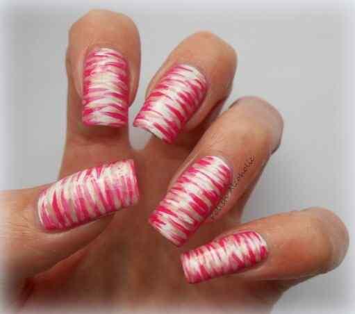 Pink nails unas color rosa (29)
