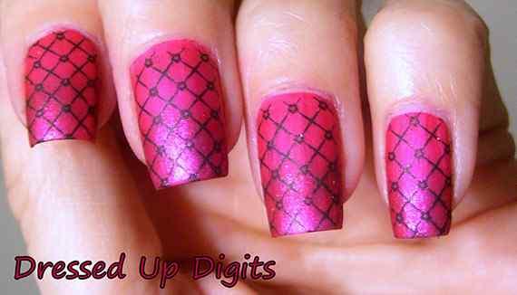 Pink nails unas color rosa (31)