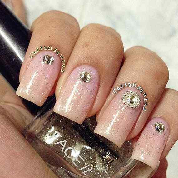 Pink nails unas color rosa (32)