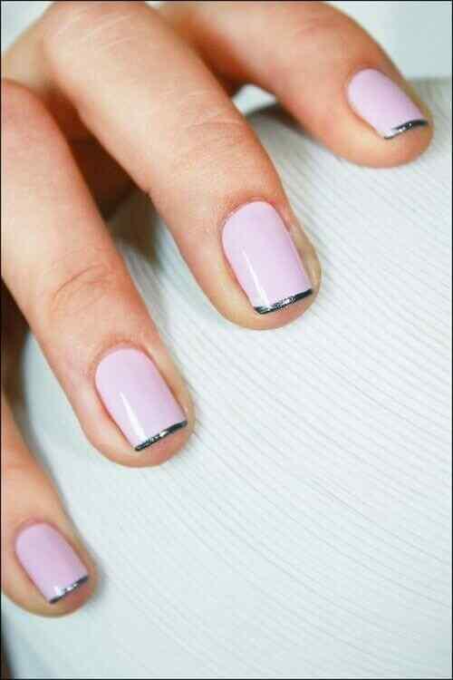 Pink nails unas color rosa (33)