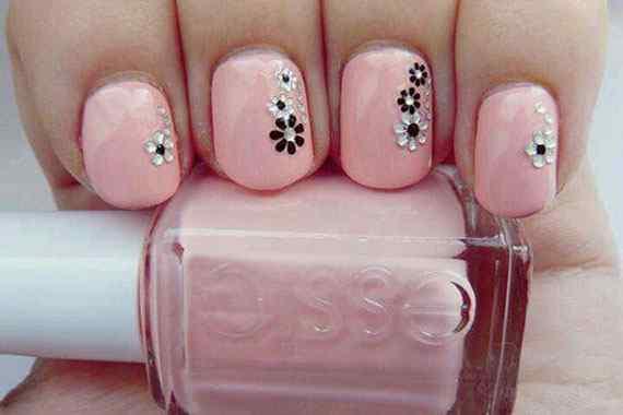 Pink nails unas color rosa (35)