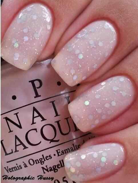 Pink nails unas color rosa (42)
