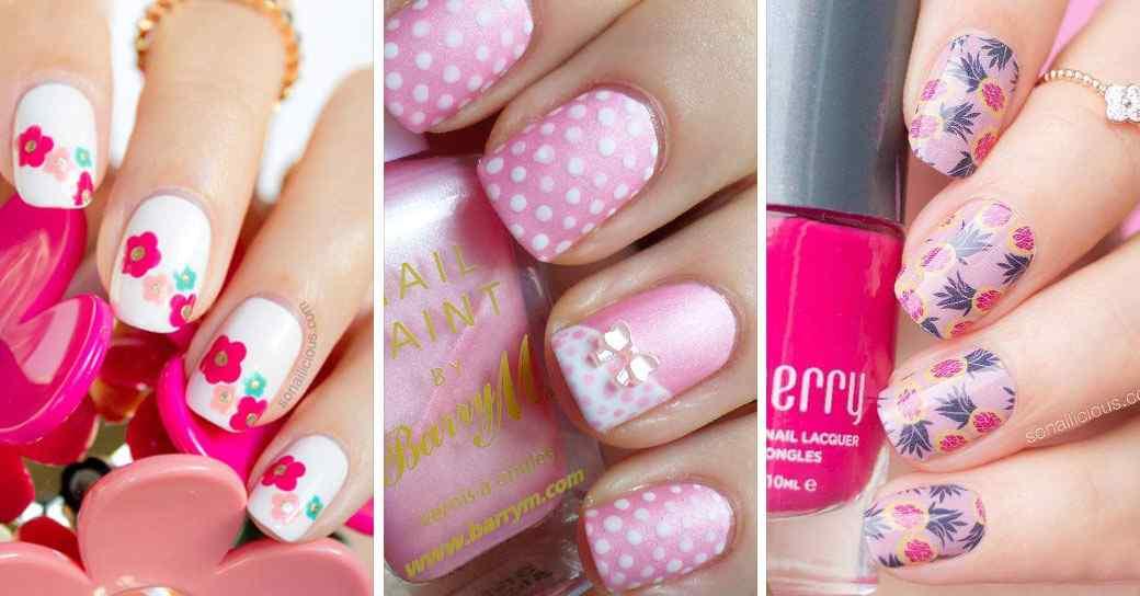 Los mejores diseños y decorados de uñas en color rosa!
