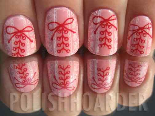 Pink nails unas color rosa (106)