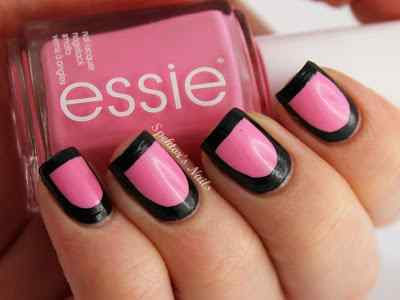 Pink nails unas color rosa (116)