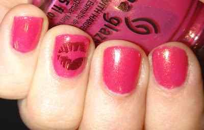 Pink nails unas color rosa (117)