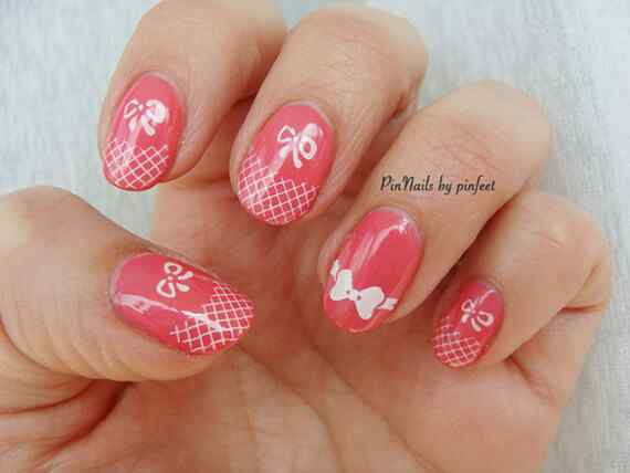 Pink nails unas color rosa (120)