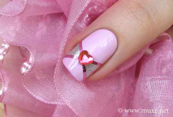 Pink nails unas color rosa (122)