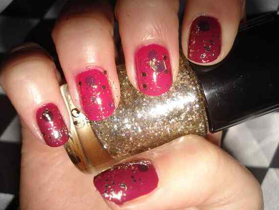 Pink nails unas color rosa (123)