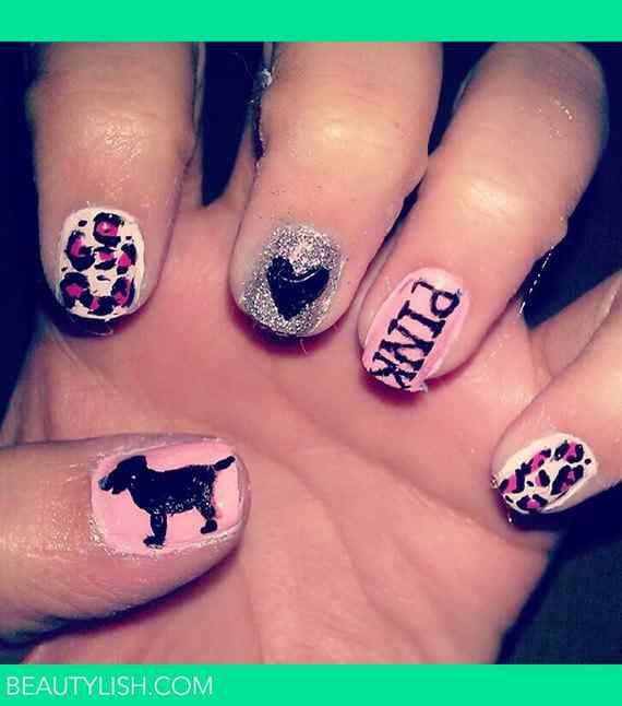Fotos de u as color rosa 42 nuevas im genes pink nails decoraci n de u as nail art - Decoracion para foto ...