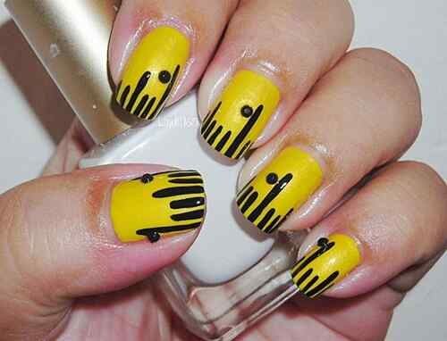 Yellow Nails - Unas amarillas (34)