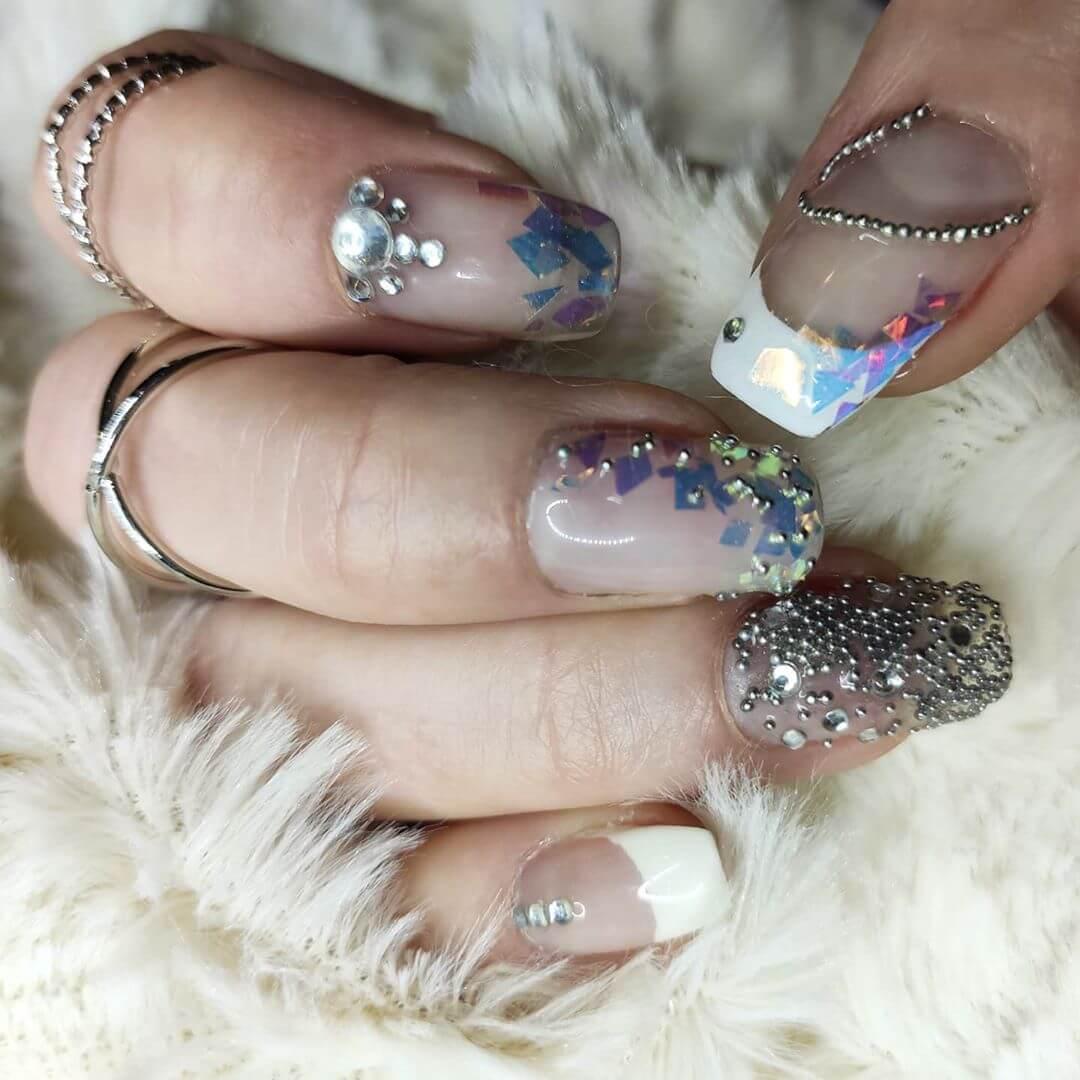 decoracion de uñas caviar