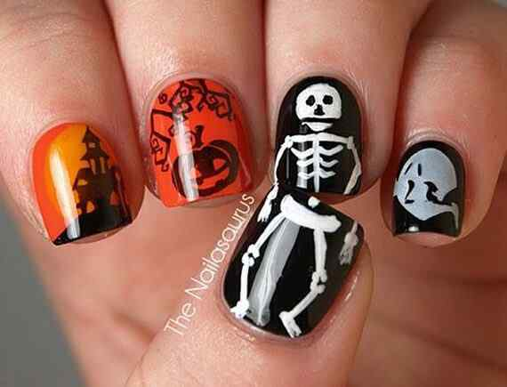 halloween nails (4)