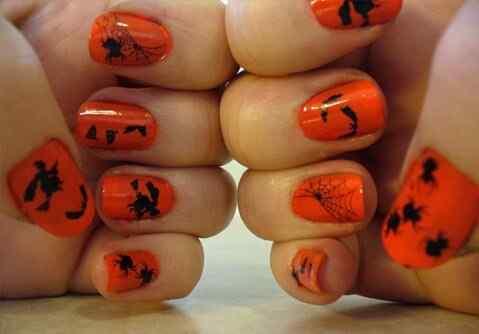 nueva decoracion unas halloween (5)