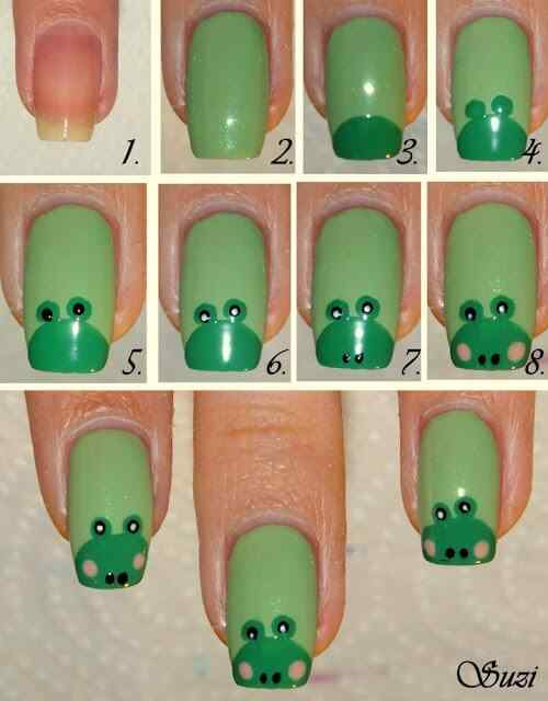 Frog Nails Tutorial