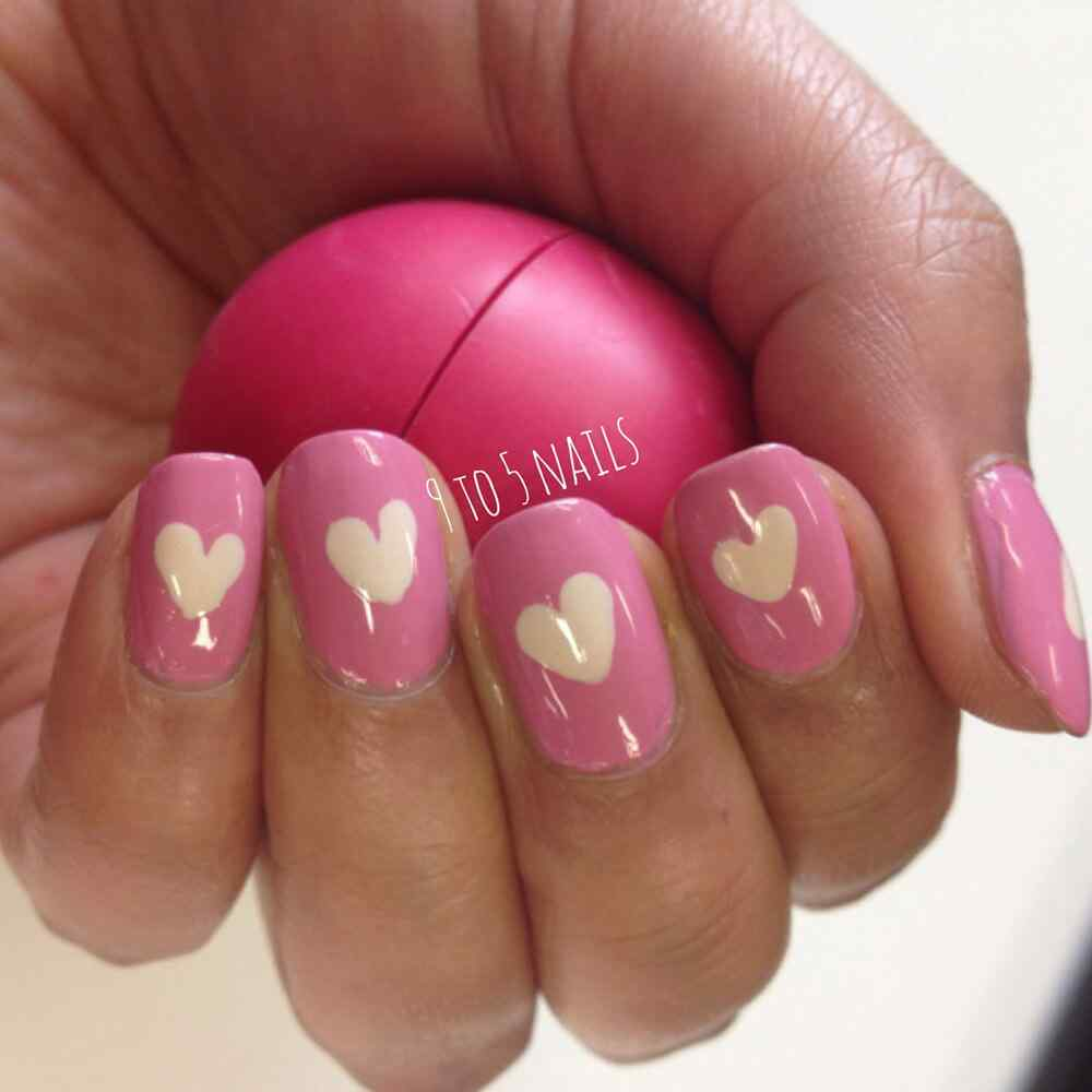 Love Nails Valentin Day nails (12)