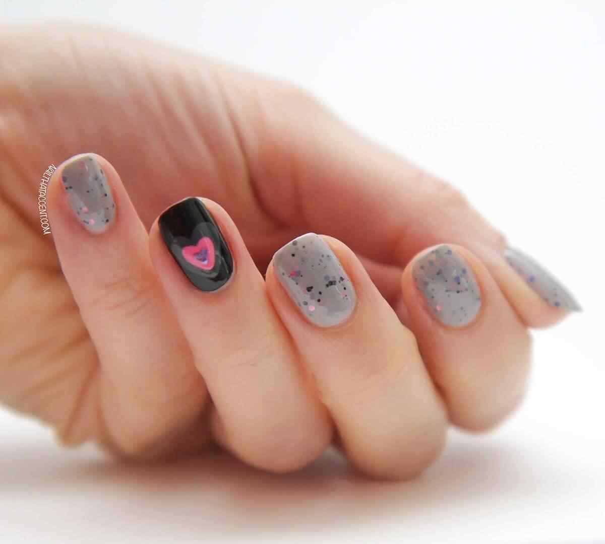 Love Nails Valentin Day nails (13)