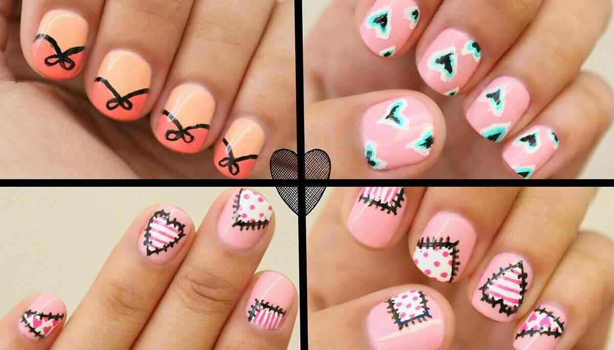 Love Nails Valentin Day nails (4)