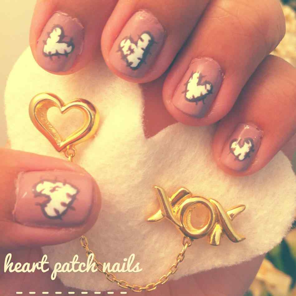Unas de amor love nails (2)
