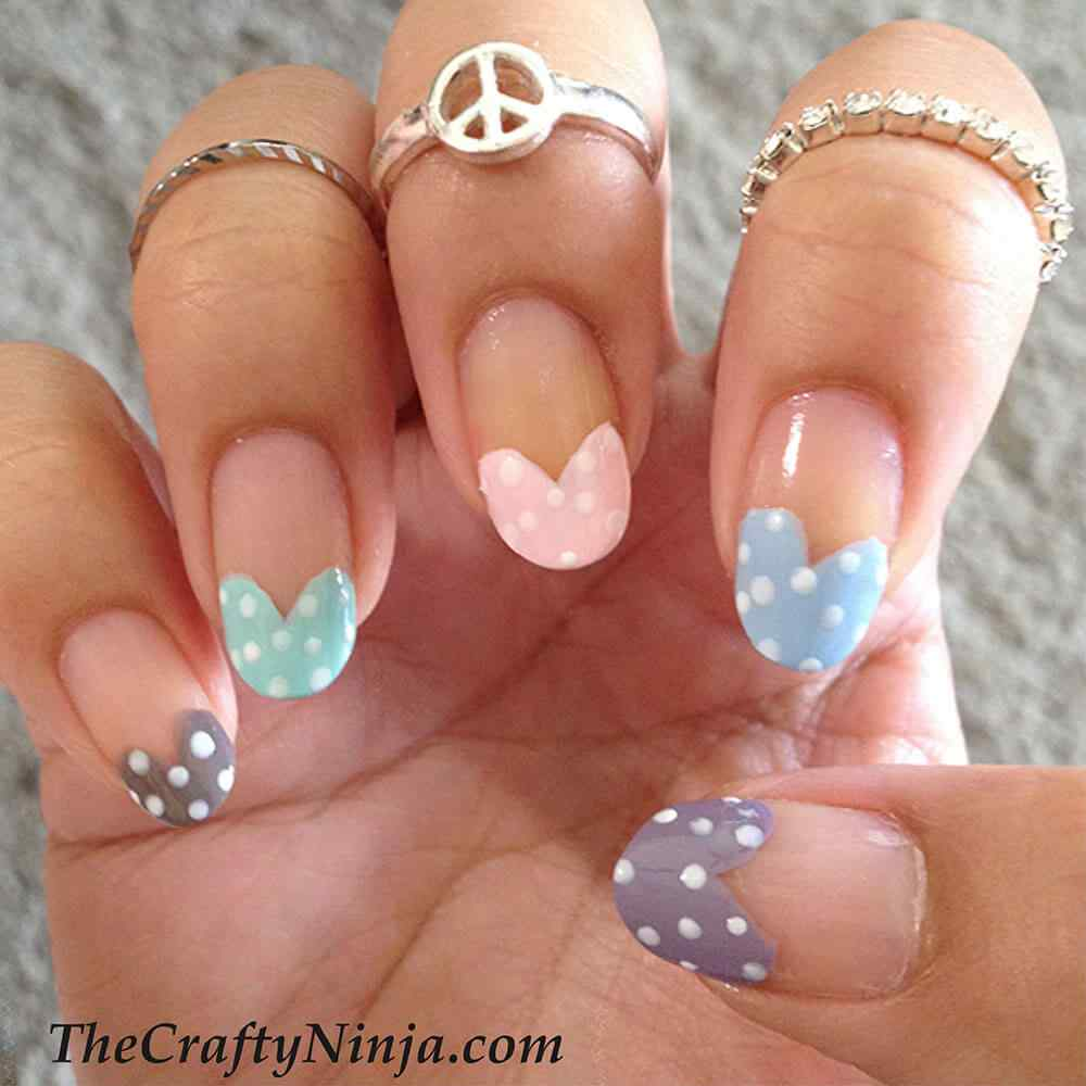 Unas de amor love nails (3)