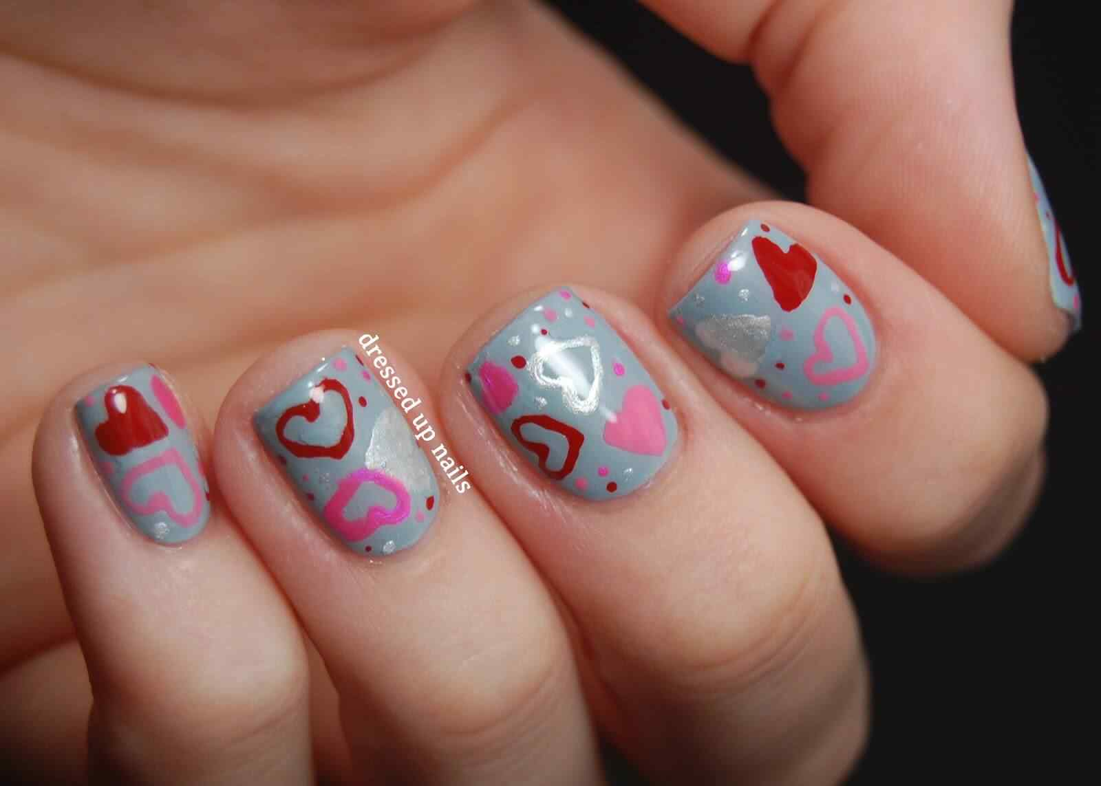 Unas de amor love nails (9)