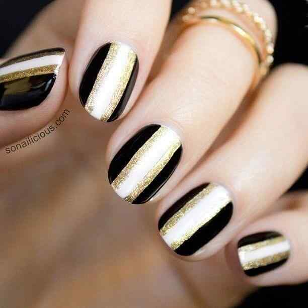 decorar unas doradas (1)