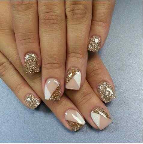 decorar unas doradas (3)
