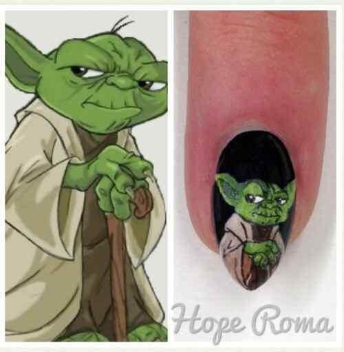 maestro yoda nails