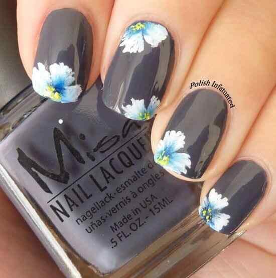 pintar unas con flores (13)