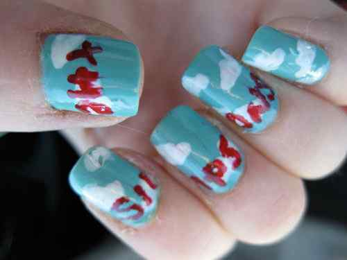 simpsons-nail-design