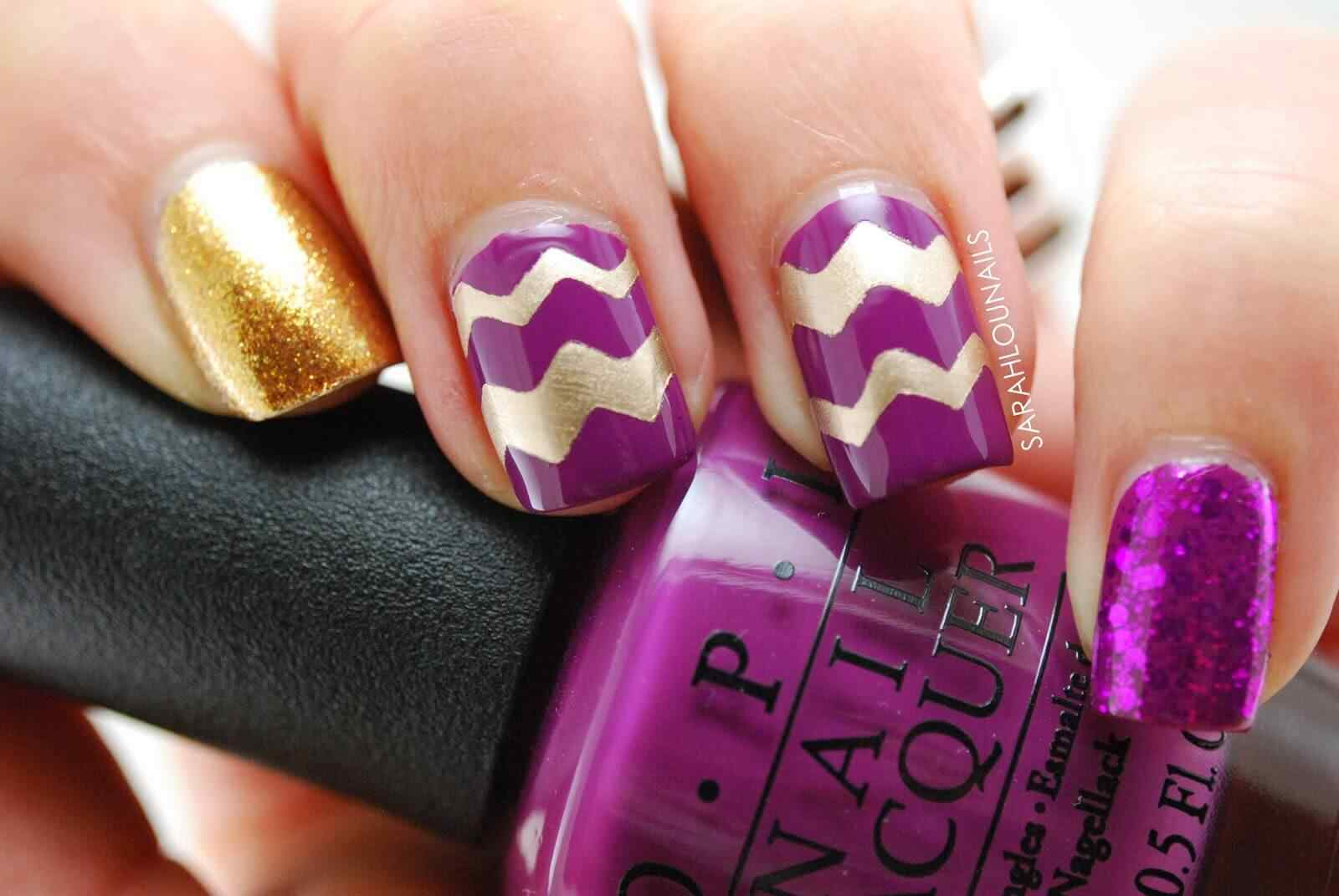 How to Paint your fingernails with a sassy animal print