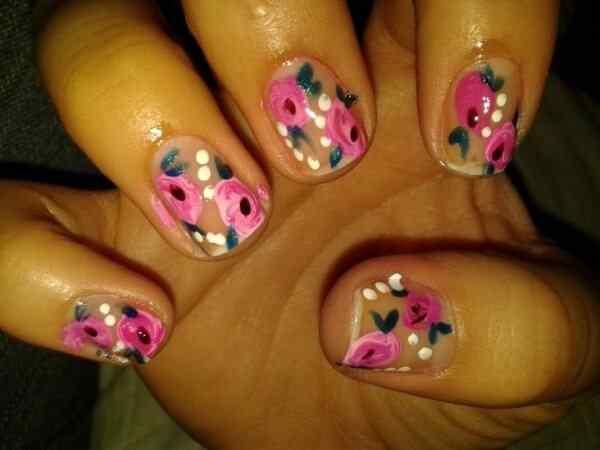 unas con flores (5)