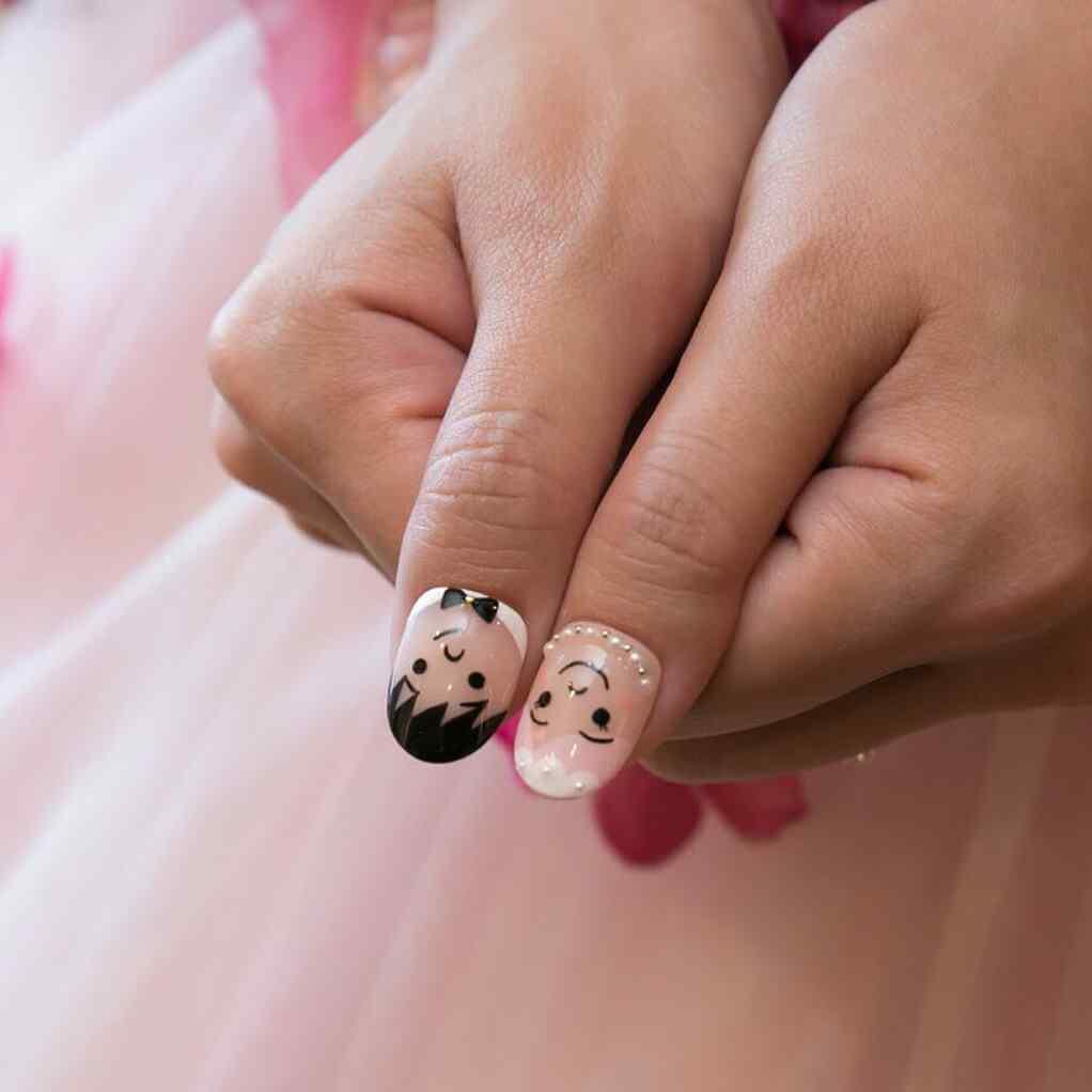 uñas de novia para boda