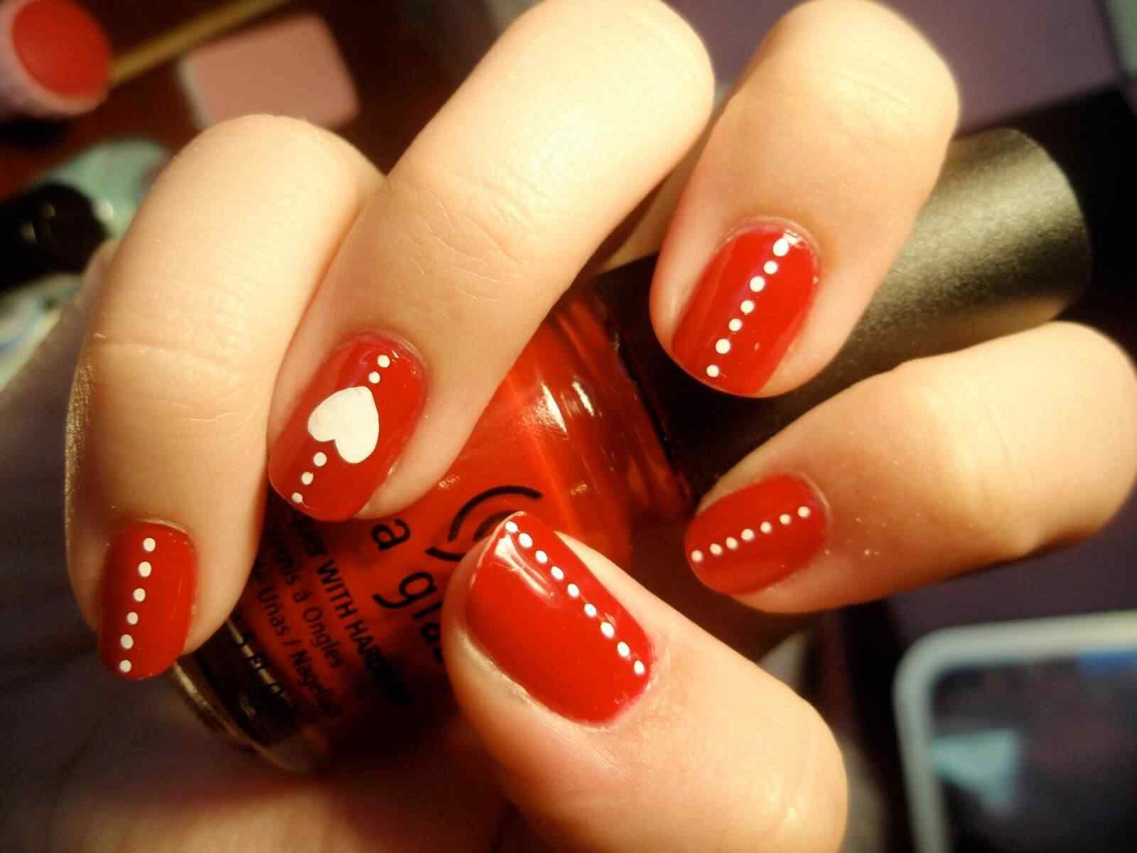 Uñas de San Valentín mas de 70 diseños espectaculares 6