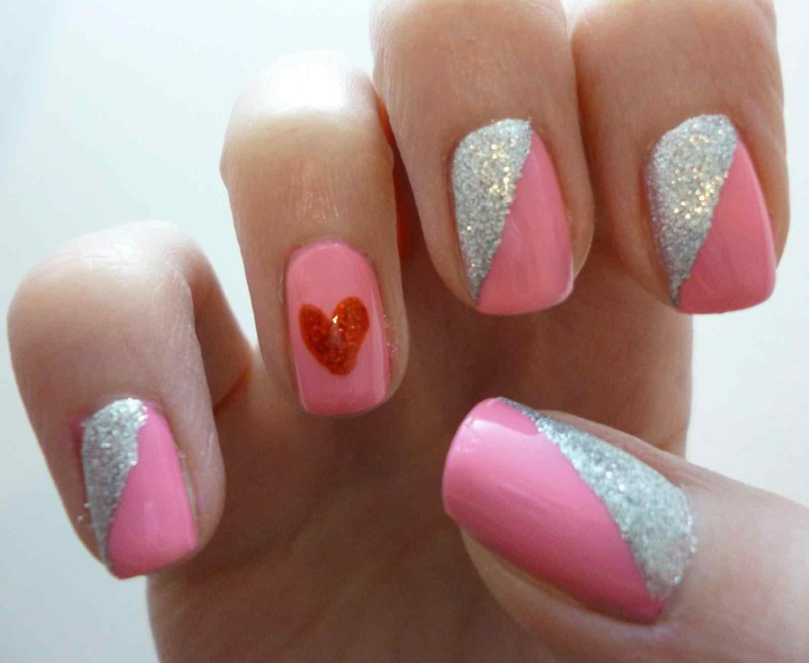 Uñas de San Valentín mas de 70 diseños espectaculares 12