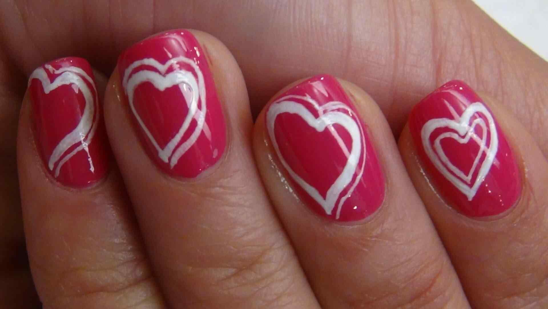 unas decoradas amor (2)