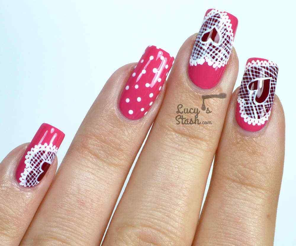Uñas de San Valentín mas de 70 diseños espectaculares 33