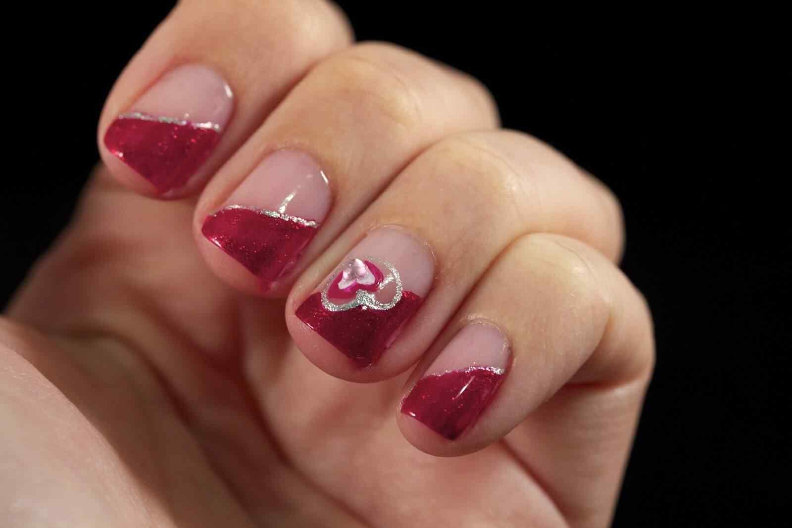 Uñas de San Valentín mas de 70 diseños espectaculares 24