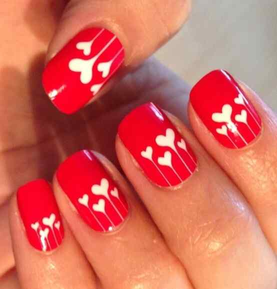 Uñas de San Valentín mas de 70 diseños espectaculares 25