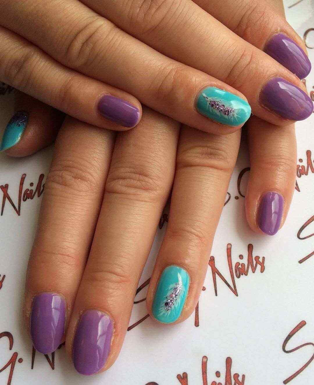U as violetas 100 dise os espectaculares - Disenos de unas decoradas ...