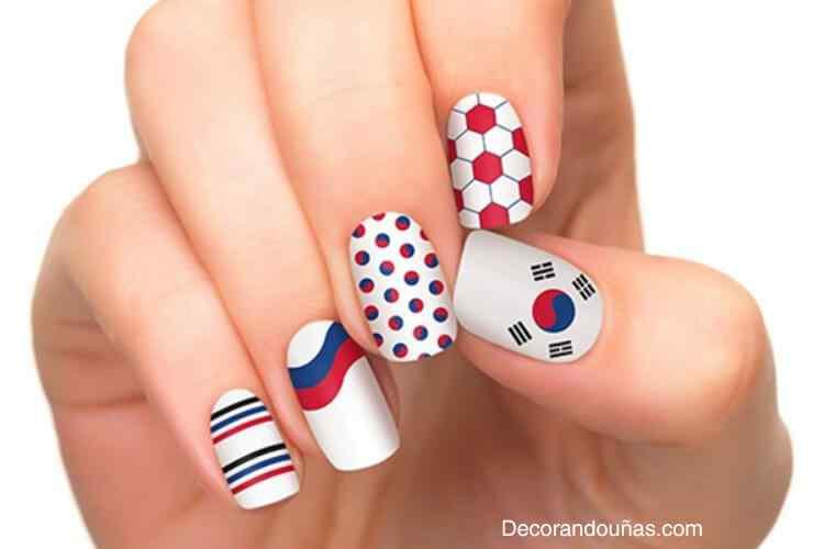 Unas Decoradas Mundial 2014 - Corea